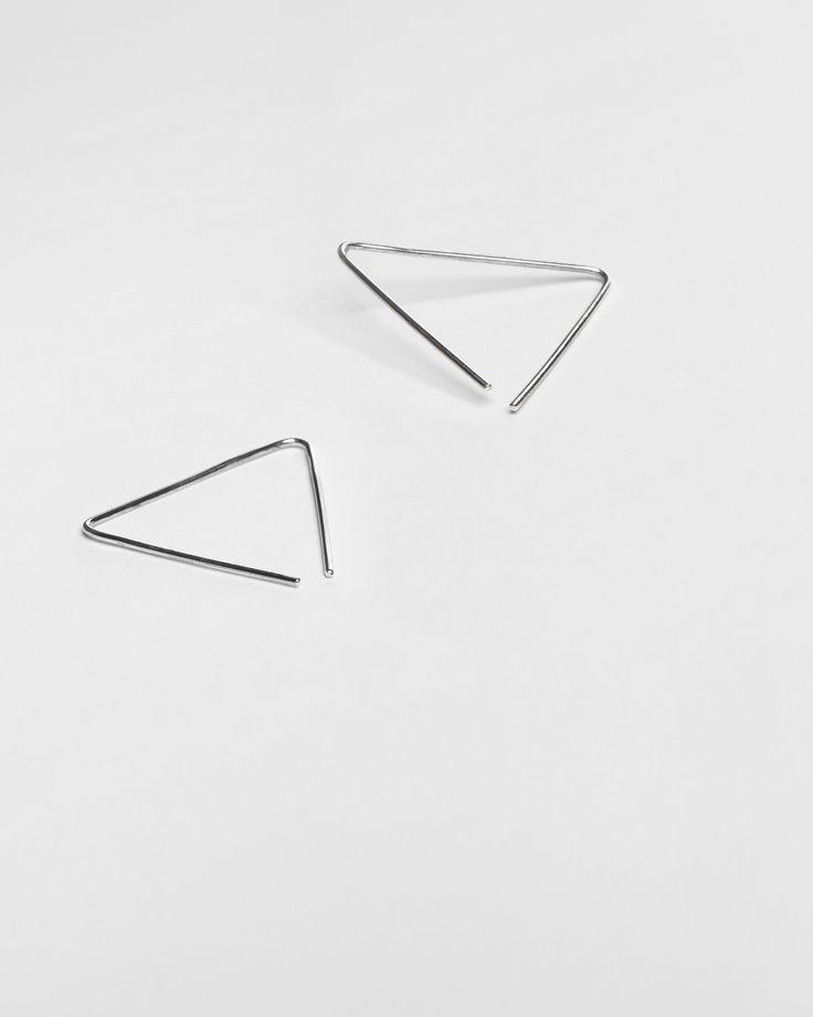 earrings - luba - Anna Lawska Jewellery / collection - back to basic - / photo - PION
