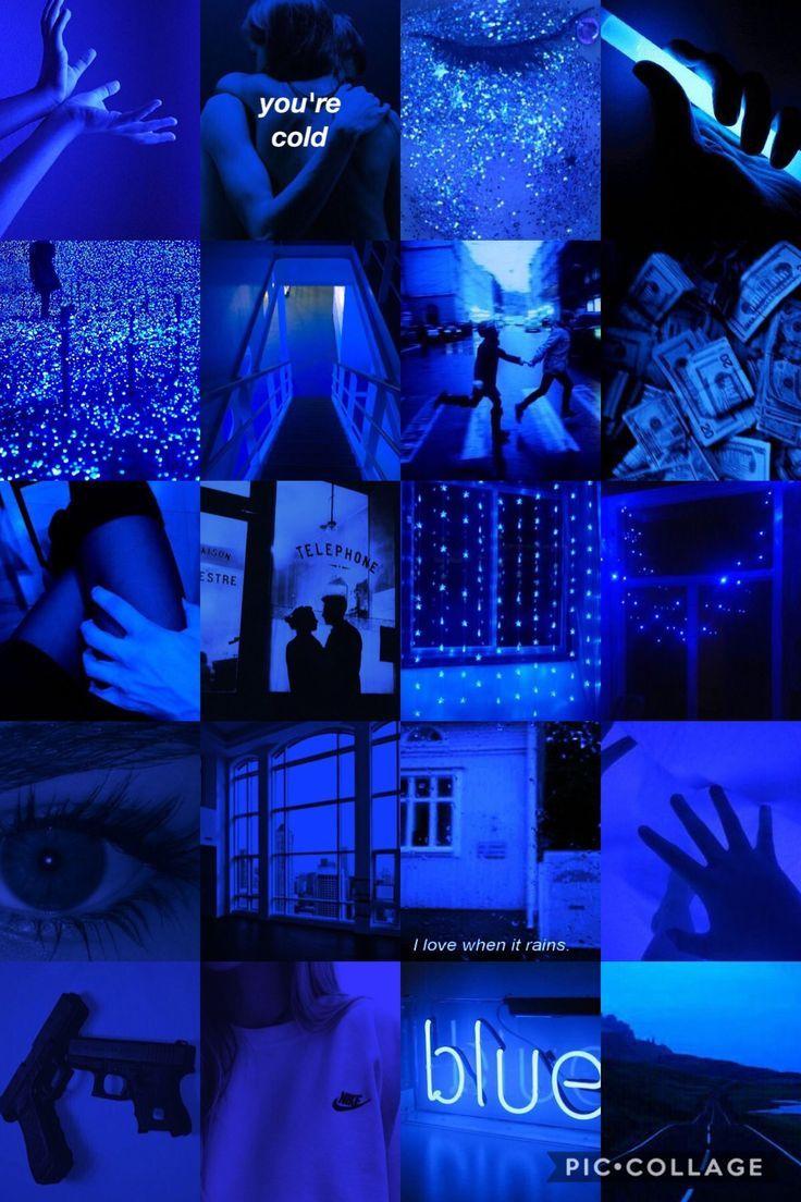 Dark Blue Aesthetic Black Aesthetic Wallpaper Blue Aesthetic Tumblr Aesthetic Pastel Wallpaper