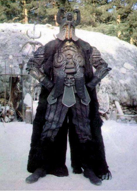 James Earl Jones as Thulsa Doom in Conan the Barbarian.