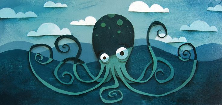 Andre Jolicoeur Illustration Blog | The Octopus