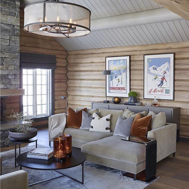 Mountain Lodge in Norway. Krista Hartmann Interior