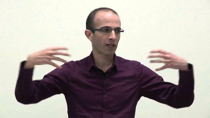"Yuval Harari: ""Techno-Religions and Silicon Prophets""   Talks at Google"