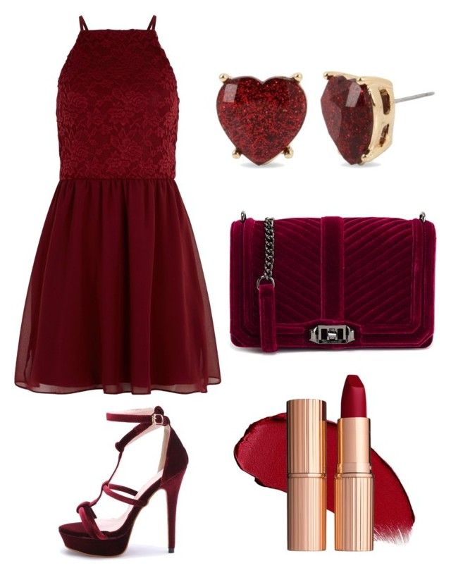 """❤❤"" by meysiskatikha on Polyvore featuring New Look, Rebecca Minkoff and Betsey Johnson"