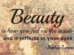 Beauty is how you feel - nice quotes about beauty - Quotes Jot - Mix Collection of Quotes