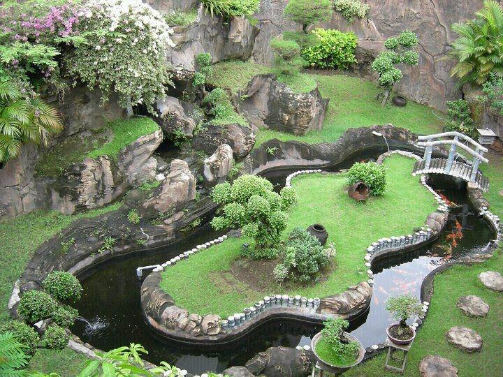 Les 25 meilleures id es de la cat gorie bouddha jardin sur pinterest jardin bouddha bouddha - Idee amenagement bassin de jardin la rochelle ...