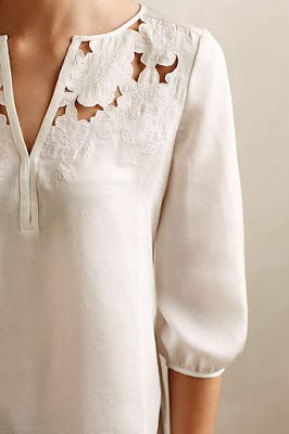 Shirts with detailing and little touches is a must