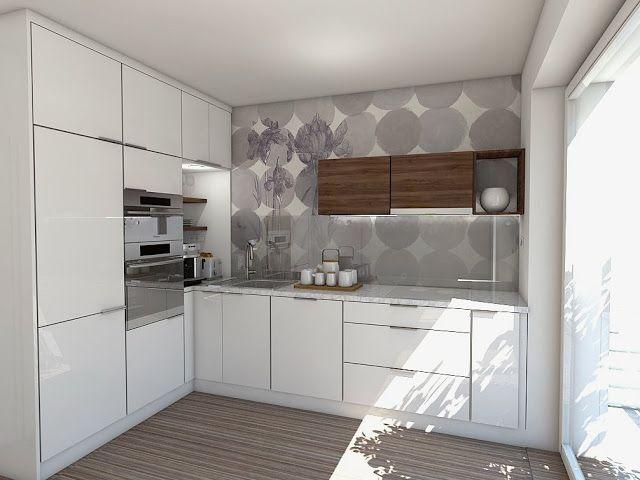 návrh kuchyně Markéta Šilhavíková