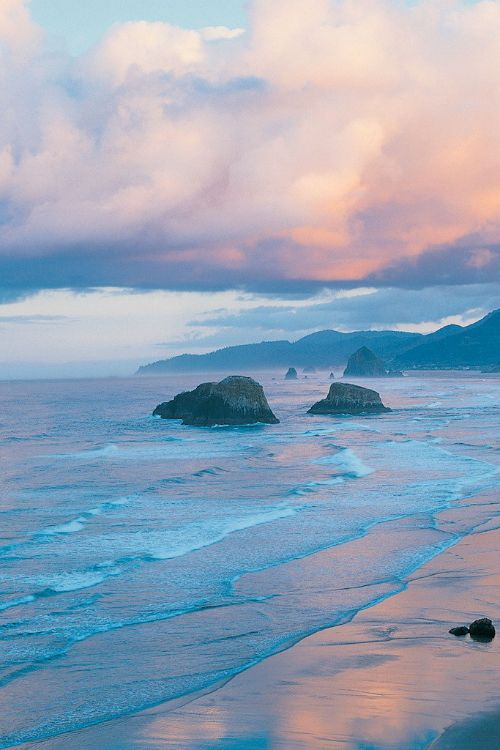 """"""" Crescent Beach Ecola State Park, Oregon by Peter Haigh """""""