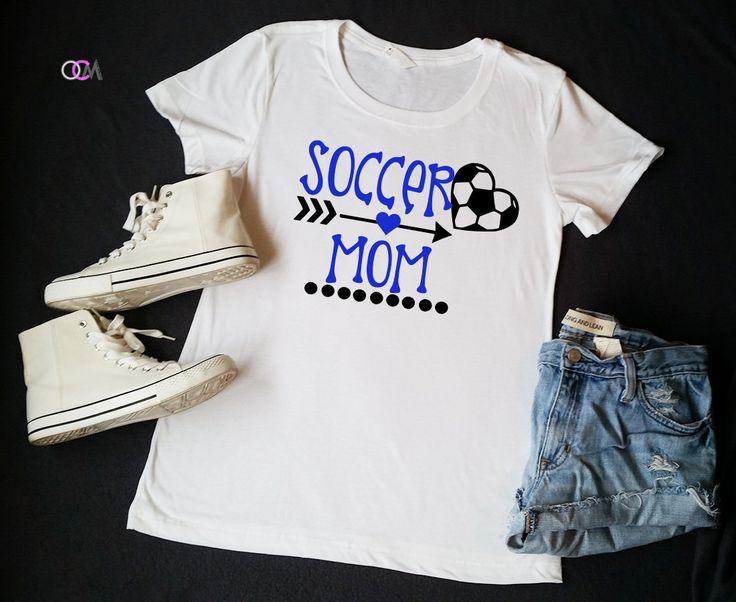 Soccer Mom Shirt, Soccer Shirt, Soccer T-Shirt