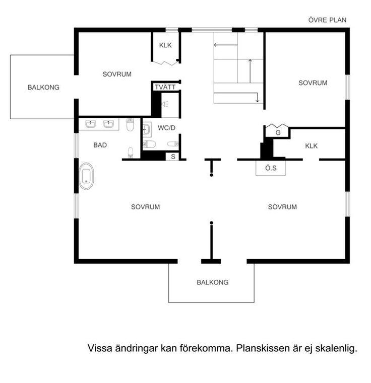 Planskiss våning 3