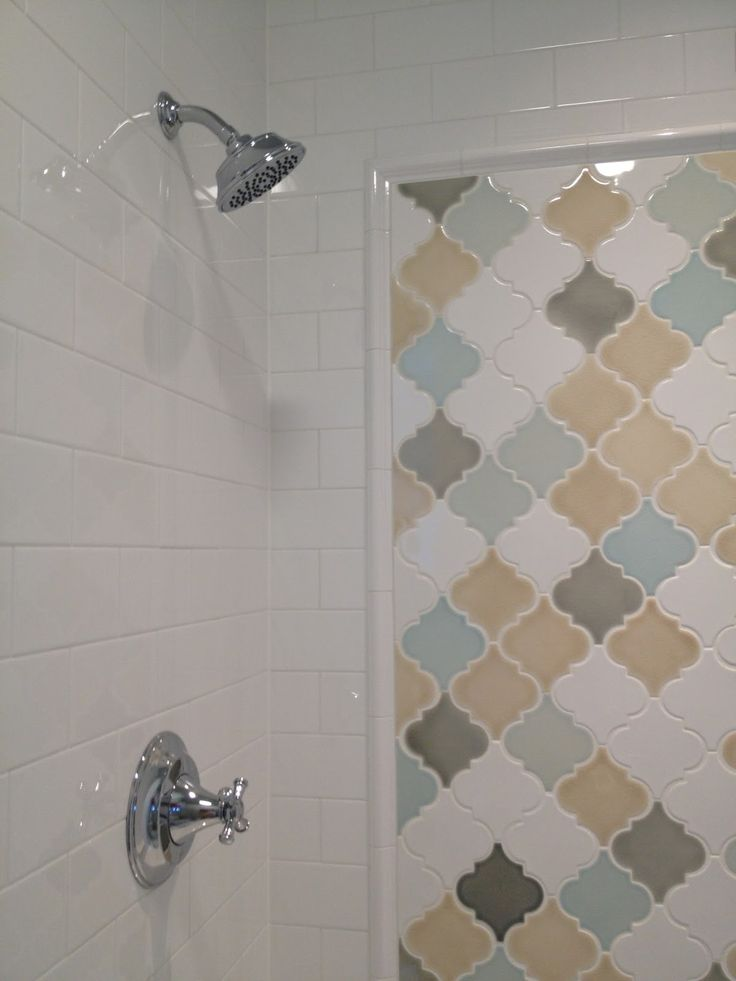 Bathroom Things: Exotic Pattern Arabesque Tile For Home Interior Design