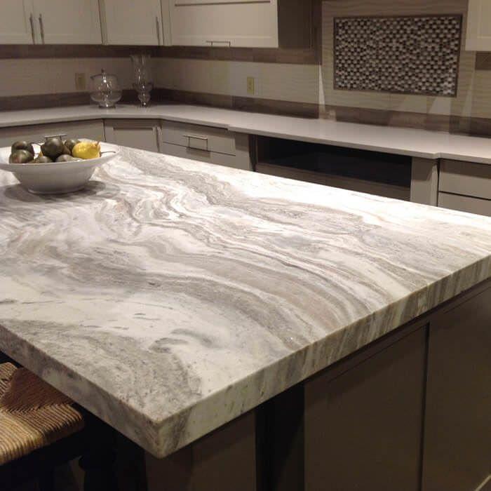 Brown Fantasy Quartzite Countertops Cost Reviews Kitchen