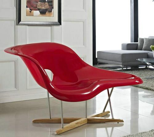 China OEM Charles Modern Fiberglass La Chaise Lounge Chair Living Room Chair - China Office Chairs : la chaise lounge chair - Sectionals, Sofas & Couches
