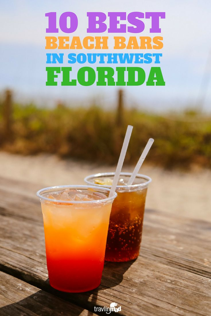 USA - If you're planning a visit to Southwest Florida, you'll want to find the best beach bars here -- the ones that are actually ON the beach, with just the right vibe to match your tropical vacation!     Fort Myers beach bars, Casa Ybel Resort, Sundial Beach Resort & Spa, Capri Fish House, Doc's Beach House, JW Marriott Marco Beach Resort, Marco Island bars, Naples Beach Hotel and Golf Club, Ritz Carlton Naples Beach Resort, The Mucky Duck