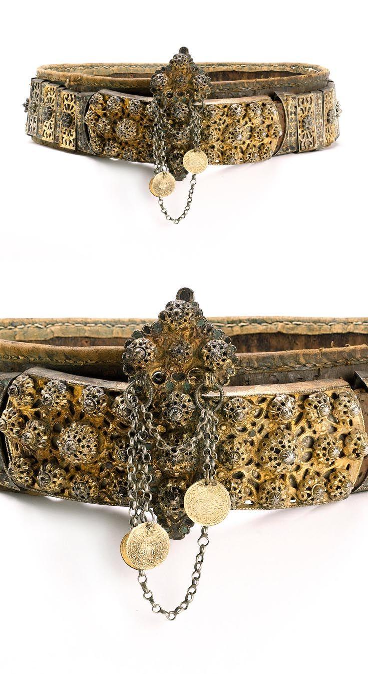 Turkey | Ottoman gilt silver belt | ca. 17th century | Est. 1'500 - 2'000£ ~ (Apr '04)