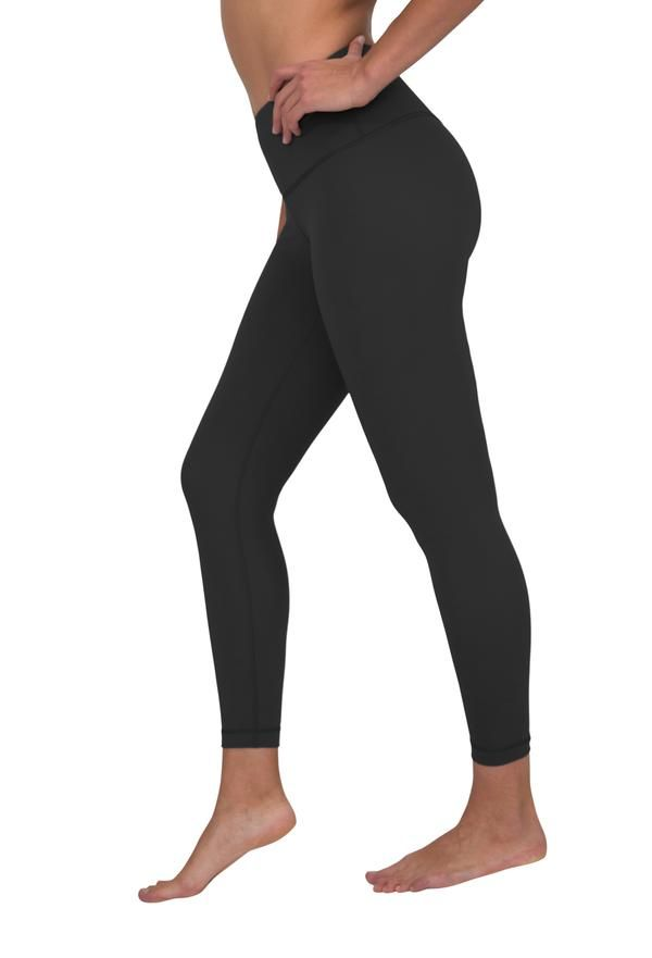 Trilux High Waist Silky Smooth V Back 7 8 Ankle Legging Pants For Women Ankle Leggings Athletic Outfits