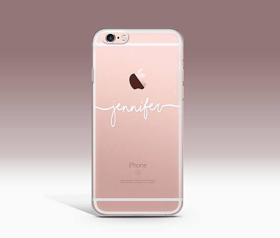 Personalised iPhone 7 Case Personalized Phone Case Custom Name
