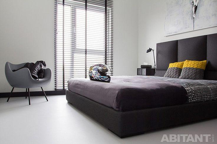 Монохромная спальня