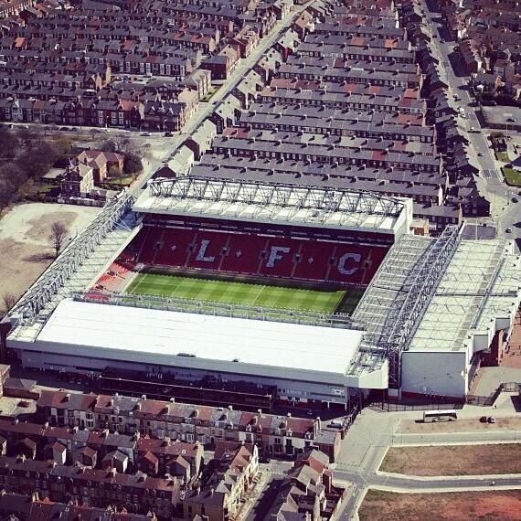 Anfield.  Probably my number one place to visit in England.
