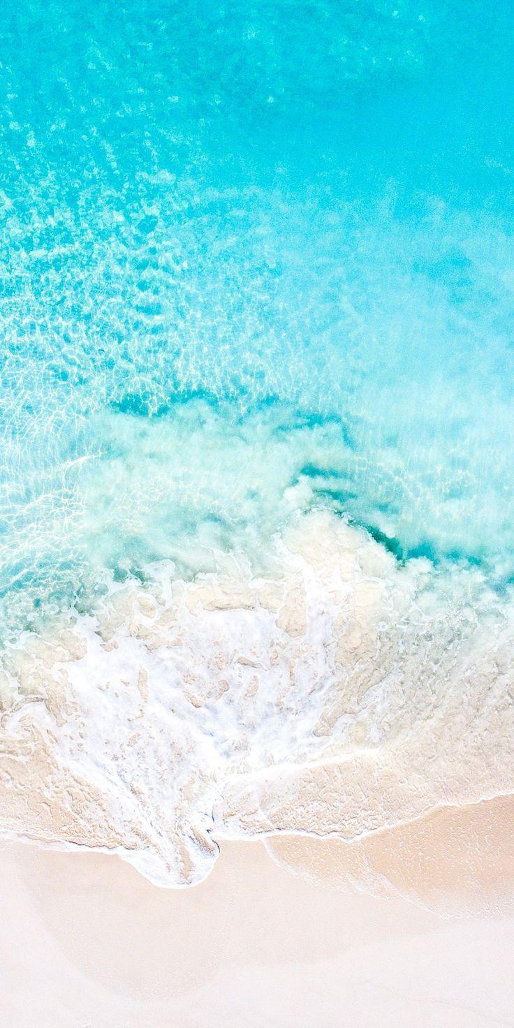 Turquoise Aesthetic Beach Wallpaper Iphone