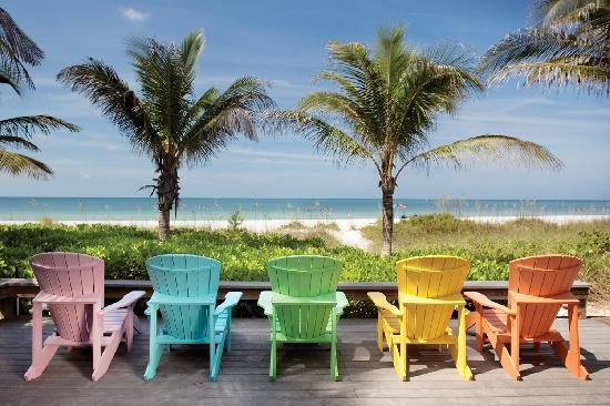 Anna Maria Island, Florida. Stay on the Northernmost side. Rent bicycles and kayak mangroves and parasail. No chain hotels!