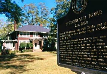 F. Scott and Zelda Fitzgerald Museum in Montgomery, AL