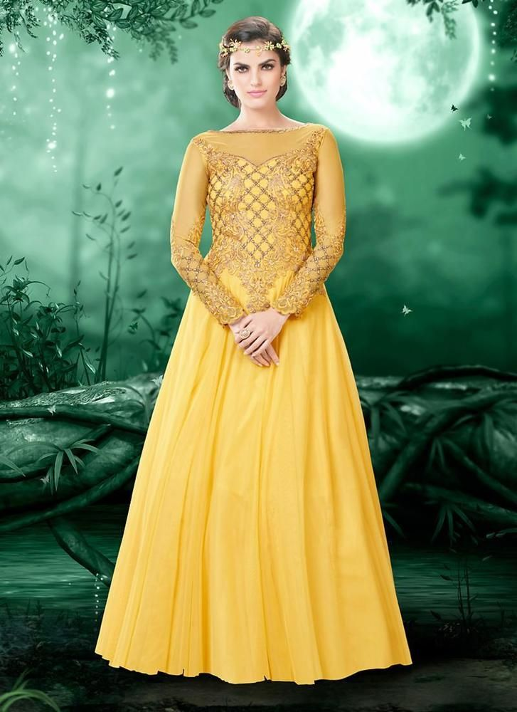 Dress Ethnic Kameez Designer Salwar Gown New Indian Pakistani Bollywood Anarkali #Tanishifashion