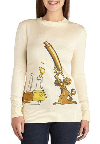 Science Rules! Sweater, #ModCloth