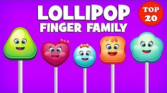 Lollipop Finger Family Song | Top 20 Finger Family Songs | Daddy Finger Rhyme - YouTube