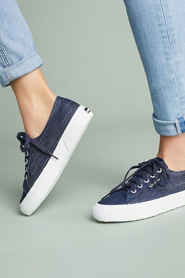 4e9e473b018 Slide View  2  Superga Denim Sneakers