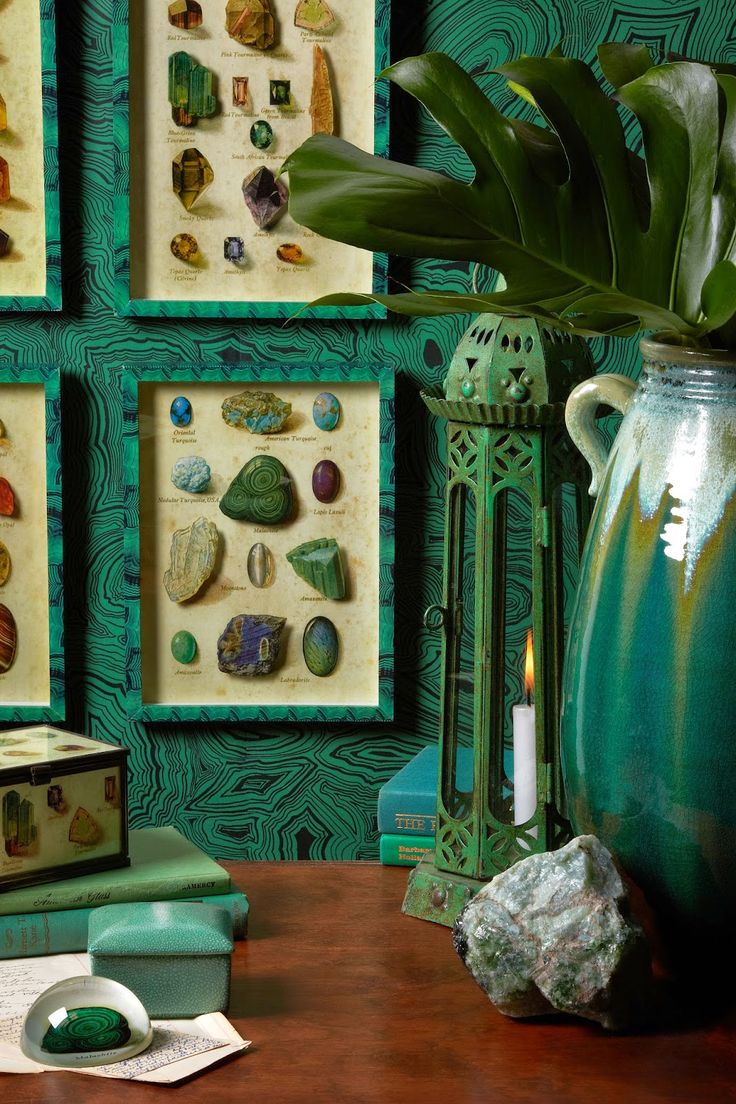 Eye For Design Bohemian Interiors And Accessories: Eye For Design: Decorating With Malachite