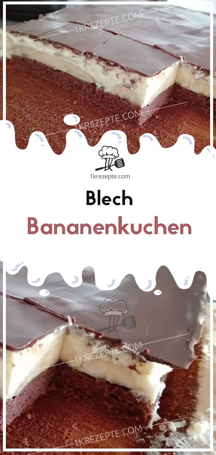 Blech Bananenkuchen – Rainer Heckmann