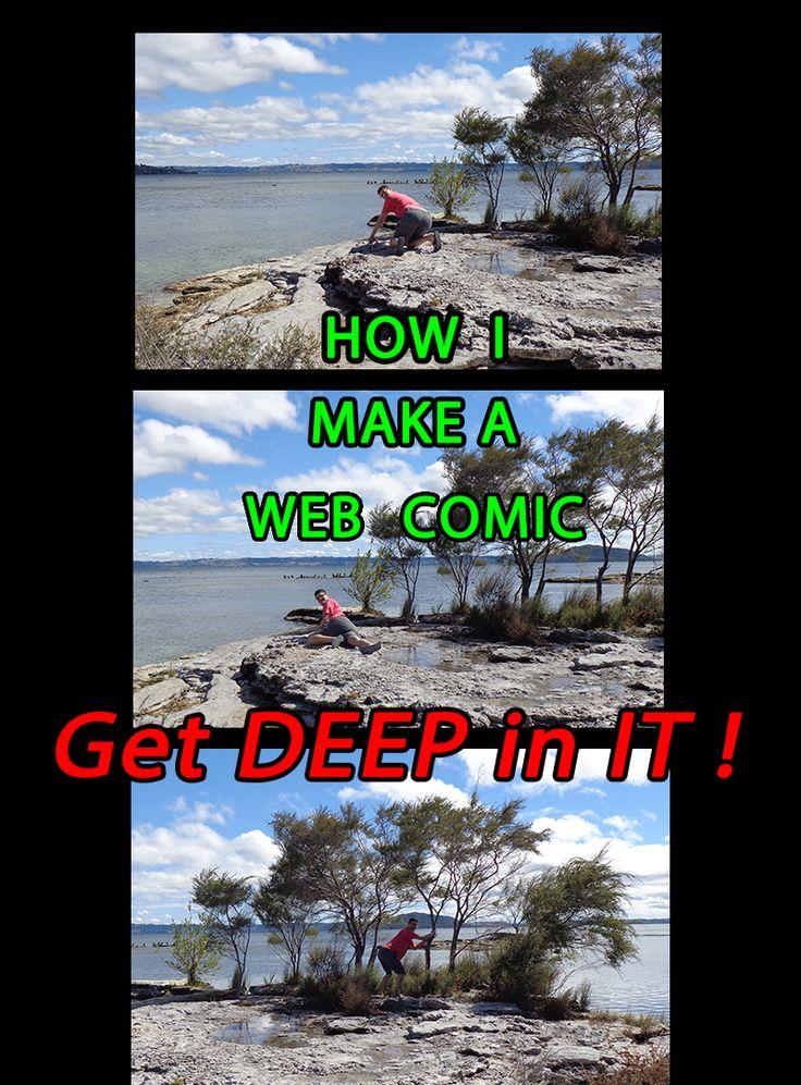 How I make a Web Comic . . . how do you make yours?