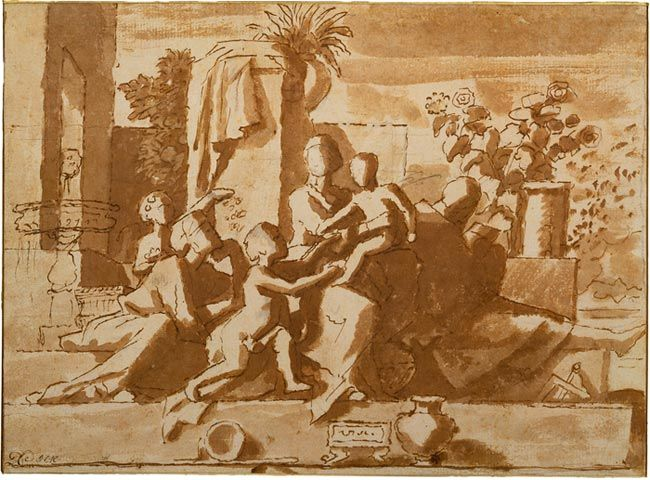 An analysis of the magnificent artwork of nicholas poussin