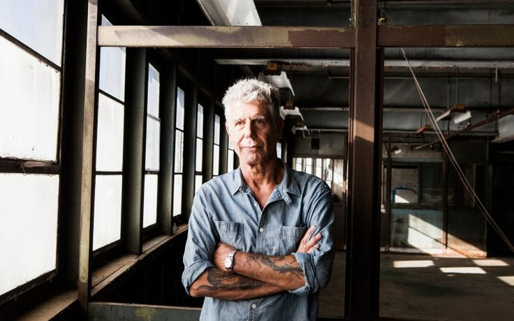 Anthony Bourdain on Pier 57, where he is planning to open Bourdain Market, in New York, Sept. 20, 2015. The market will hold a vast collection of about 100 retail and wholesale food vendors from New York, the nation and overseas, including fishmongers, butchers, bakers and other artisans, and eventually at least one full-service restaurant. (Alex Welsh/The New York Times)