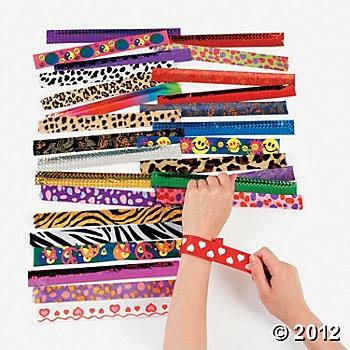 Slap Bracelet Assortment    50pieces $20.00