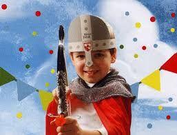 Bildergebnis für ritterhelm für kindergeburtstag basteln