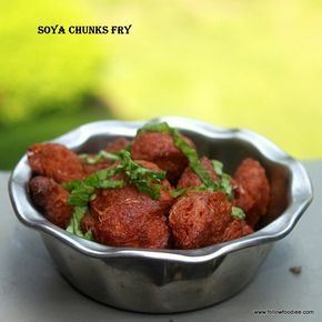 Crispy  and crunchy Fried  Protein packed Soya Chunks recipe . #Soya #MealMaker #Fry