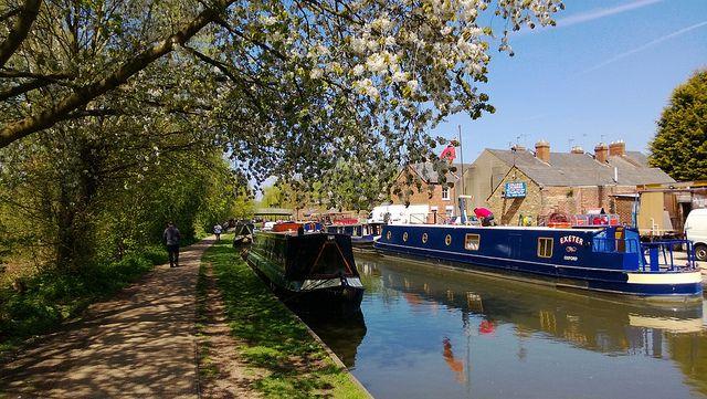 Oxford Canal Jericho Oxford - UK