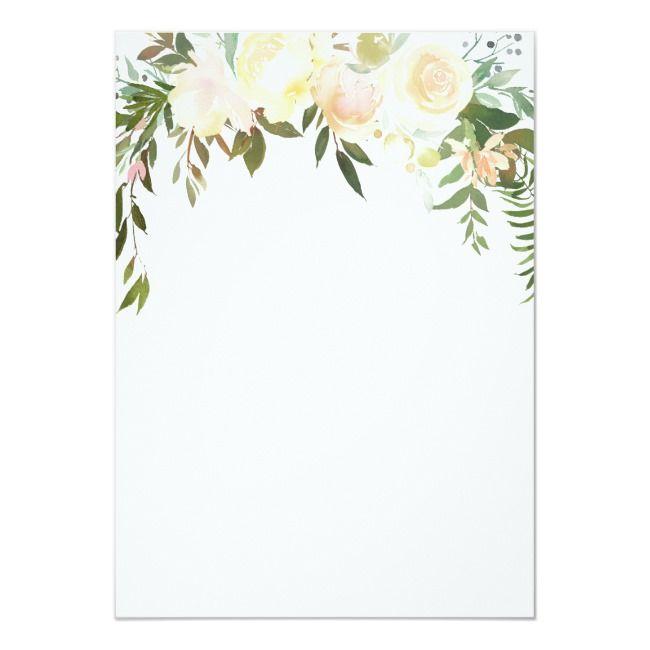 Create Your Own Invitation Zazzle Com In 2020 Bridal Shower Invitations Templates Flower Invitation Bridal Shower Invitations