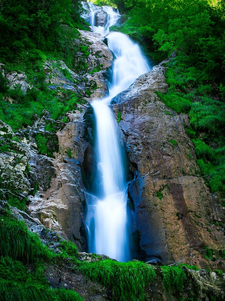 Horses' waterfall - The Horses' Waterfall in Rodnei Mountains is the highest in Romania at over 90 m high. The story goes that the name was given to remember the horses that fell to their deaths while chased by a bear.