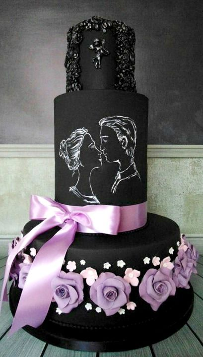Love at First Sight Cake