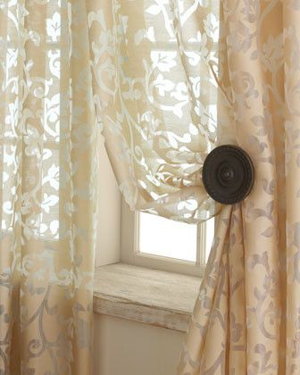 Gorgeous Classic Sheer Drapes