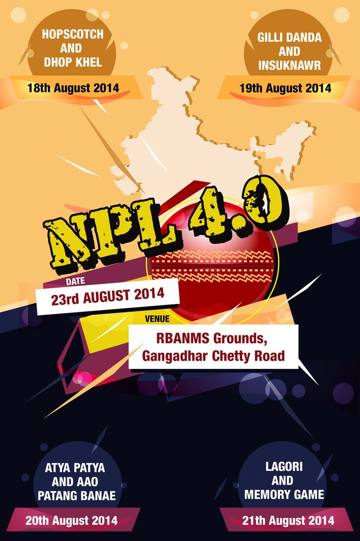 Best poster design 2014 - Poster Design 2014 A Poster For Neev Primer League That Pumps Up The Adrenaline To