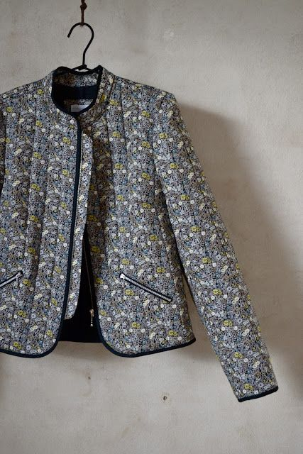 Quilted jacket by Marapytta #sewing #jacket