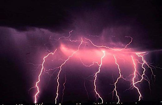 After 100 years of speculating that lightening COULD spark a nuclear reaction, we finally record it happening. Lightning sparks mid-air nuclear reaction, first time recorded phenomenon.   Hooray for gamma rays doing their thang. Their instability means they can randomly let off bursts of excess radiation ─ including gamma rays ─ which results in a nuclear reaction.