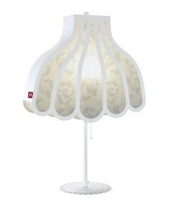 www.popsiclestuff.nl   Table lamp HOME AT GRANNIES, white