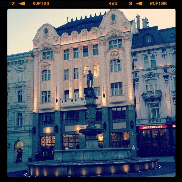 Bratislava can be pretty romantic :) #LoveEurope