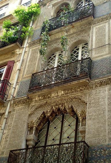 Edificio calle s nchez pastor m laga edificio estilo for Arquitectura mozarabe