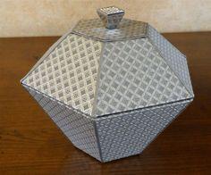 Boîte diamant gris argenté : Boîtes, coffrets par a-chacun-sa-boite